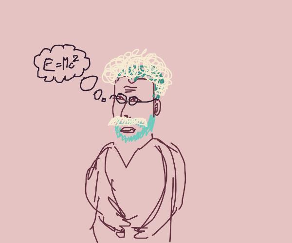 Einstein by Van Gogh