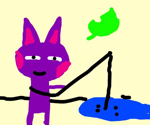 Bob from Animal Crossing Fishing