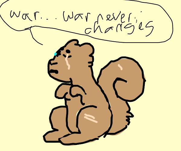 One Eyed Squirrel