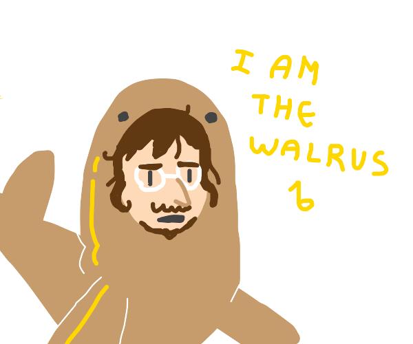 John lennon is the walrus