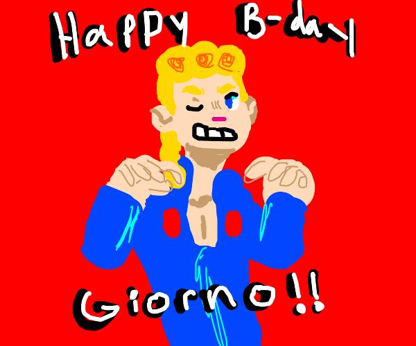 Happy Birthday Giorno