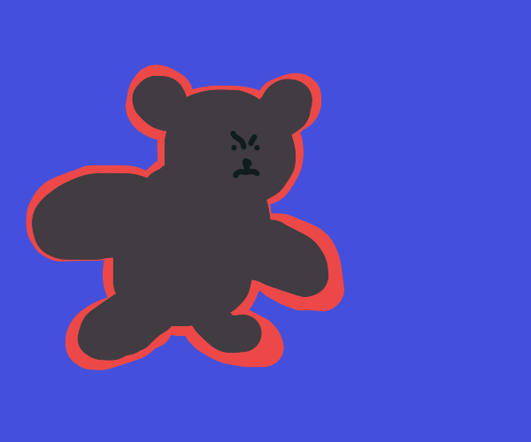 Bear with floating aura around it