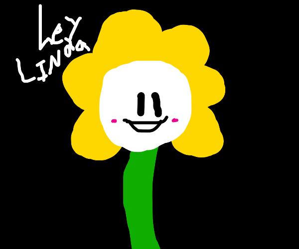 dead inside flower asks linda about suffering