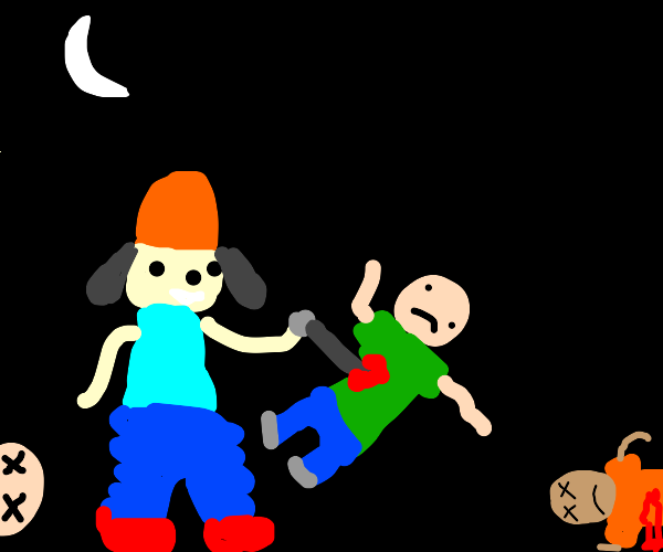 PaRappa goes on a murder spree