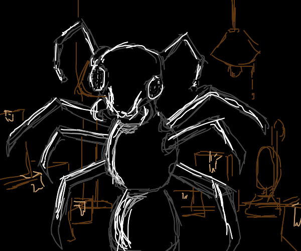 the mutant ant that hides in the basement