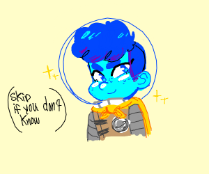 Space Kid! (the Camp Camp one)