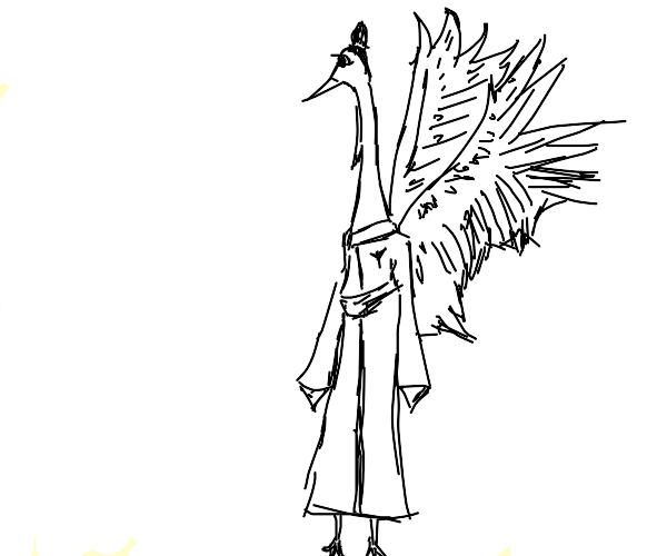 Chinese bird man