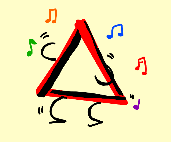 dancing triangle