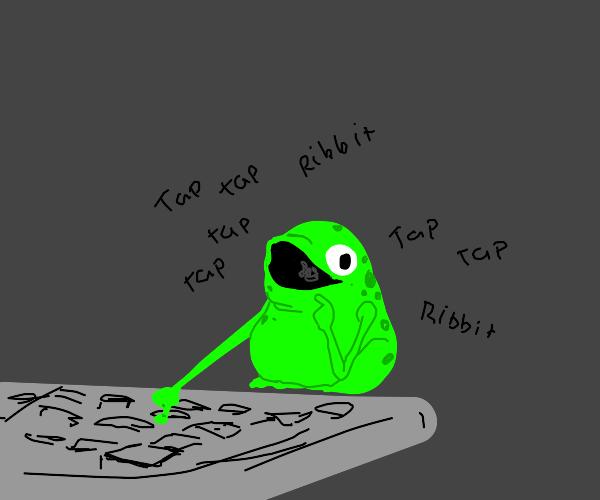 Frog Typing