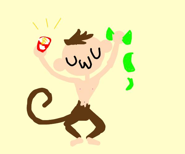 uwu monkey-human huybrid wins lotterey
