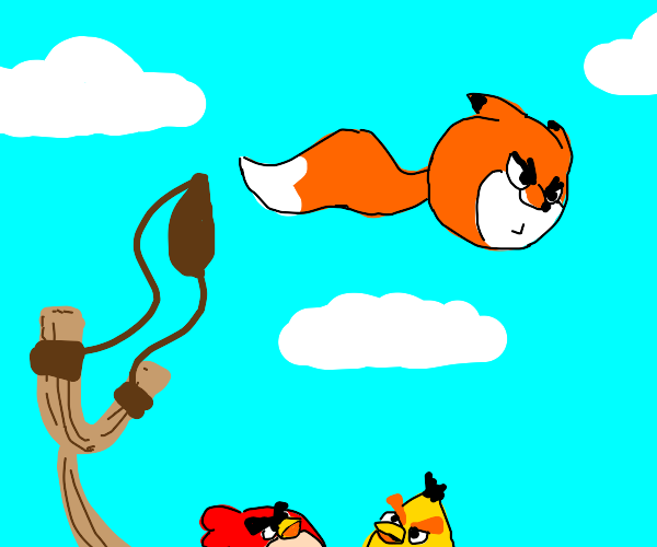 fox in angry birds