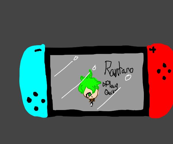 Rantaro Amami on the Nintendo switch