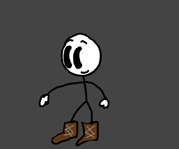 Henry Stickmin with boots