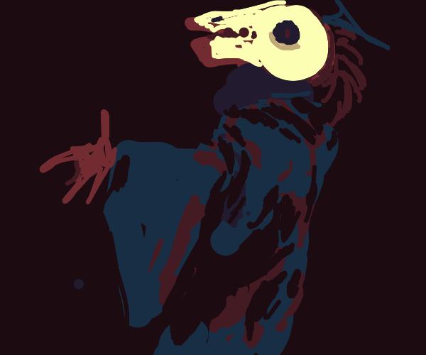 Skeksis skull