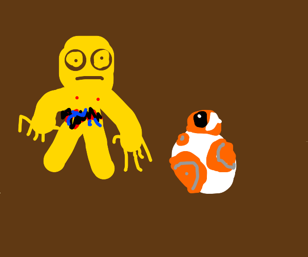 C3PO and BB8