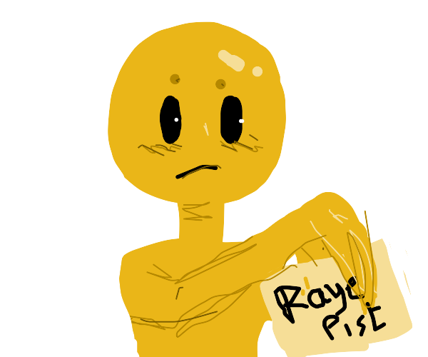 ID of a yellow man named raye pist