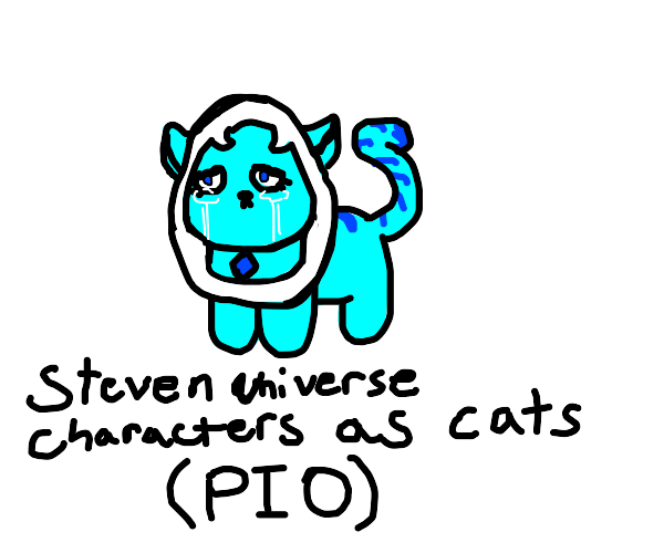 Steven universe characters as cats (pto)