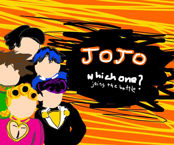 Jojo in smash