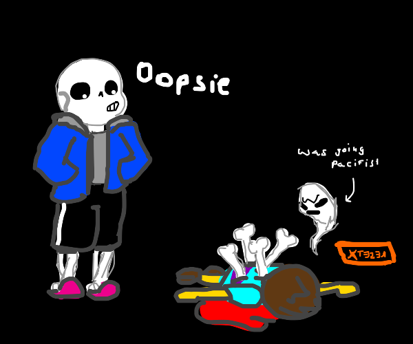 Sans committed an accidental murder