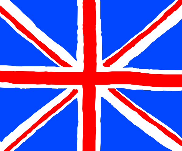 Absolutely perfect British flag