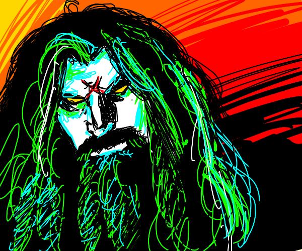 Hagrid with algae for hair