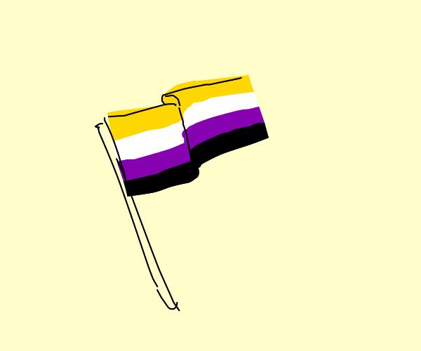 nonbinary pride flag