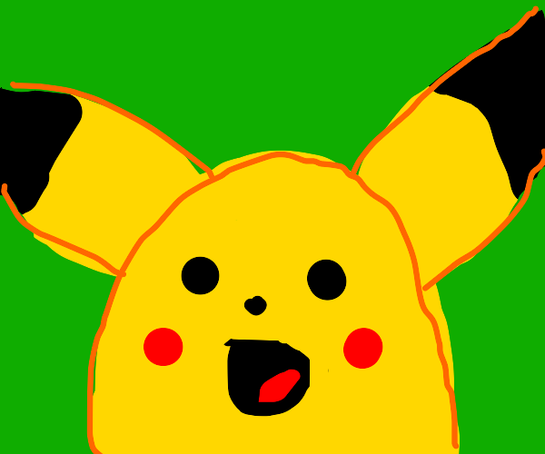surprised pikachu