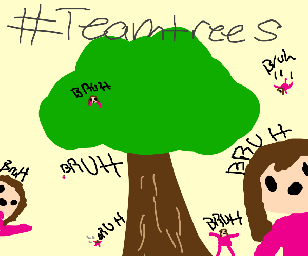 Princess planting tree for #Teamtrees