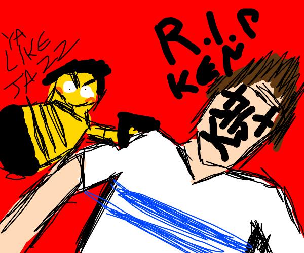 Bee kill a guy