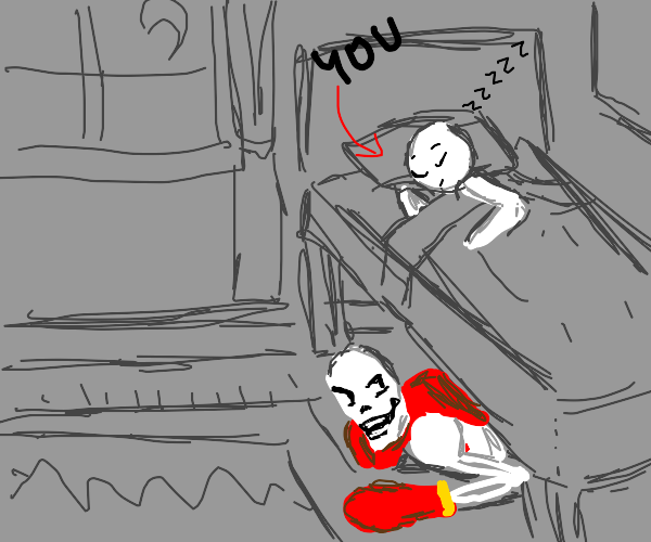 papyrus is under your bed