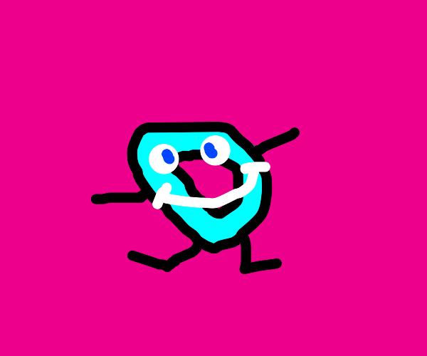 happy drawception mascot