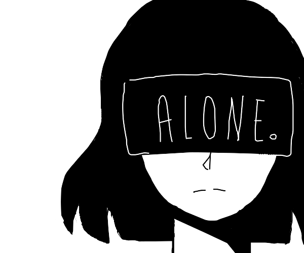 The Internet makes an anime girl depressed.