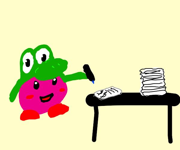 yoshi kriby doing taxes