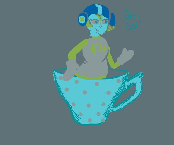 Gum in a Teacup