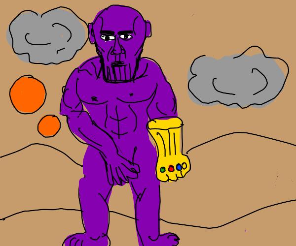 Thanos naked