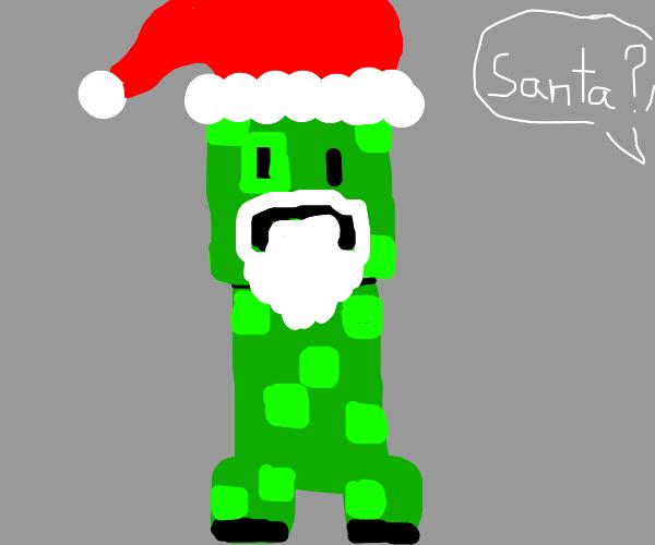 Santa creepin