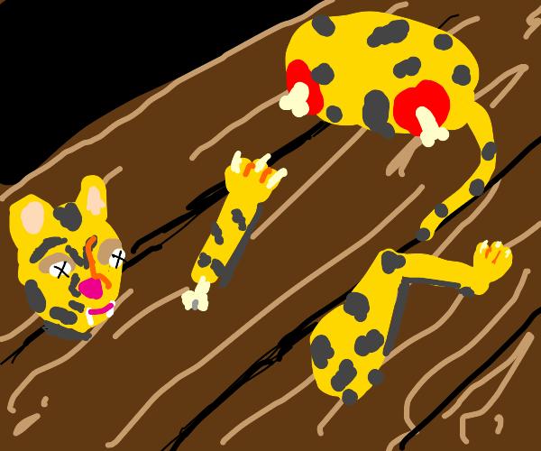 deconstructed leopard