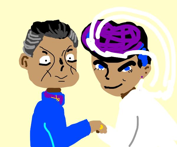Josuke and Okuyasu get Married