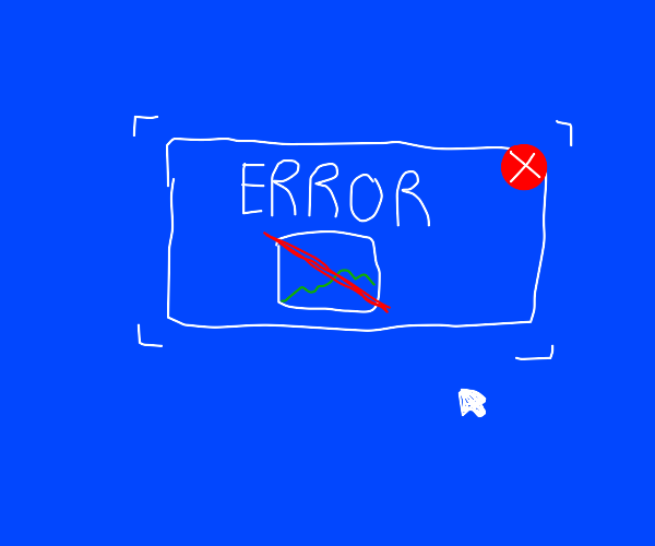 ERROR image does not exist