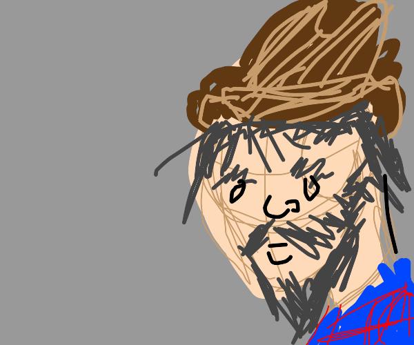 hairy scruffy cowboy