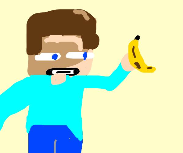 steve gets bananas