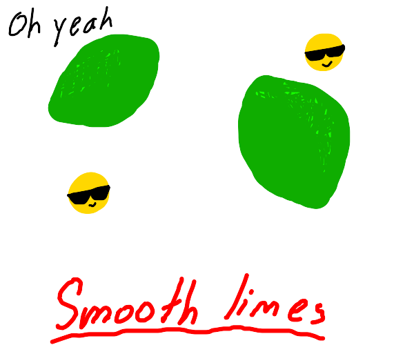 Smooth limes