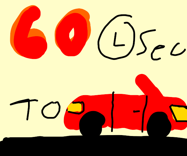 60 to car!