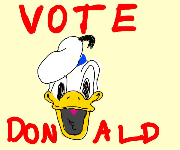 vote donald