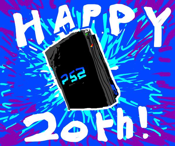 playstation 2 (happy 20th!)