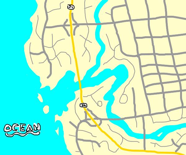 A coast.