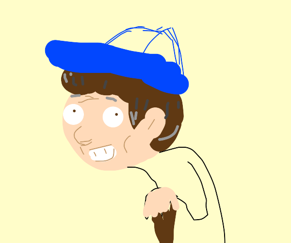 Old man vertion of dipper from gravity falls
