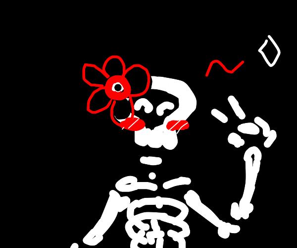 Kawaii skeleton