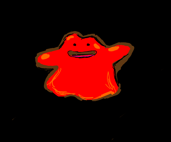 ditto from pokemon but red