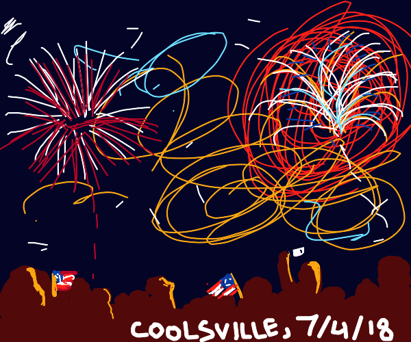 4th July celebration in Coolsville